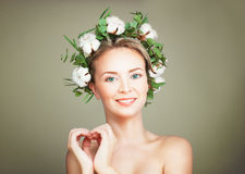 Spa Model Woman With Healthy Skin Royalty Free Stock Photography