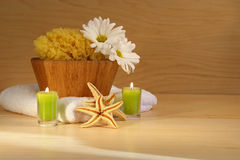 Spa moment stock images