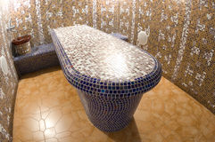 Spa mosaic table Royalty Free Stock Images