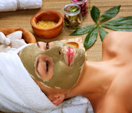 Spa Mud Mask Stock Photo