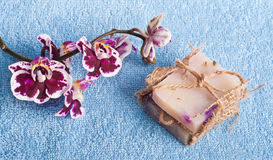 SPA natural soap Stock Photos