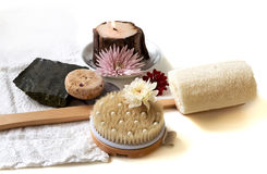 Spa nature products Stock Image