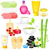 Spa Object. Easy to edit vector illustration of Spa Object royalty free illustration