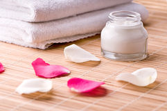 Spa objects. A nice and clean spa environment Stock Images