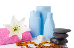 Spa Objects And Flower Royalty Free Stock Images