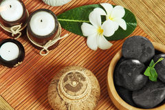 Spa objects Royalty Free Stock Photography