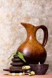 Spa objects and decor Royalty Free Stock Photography