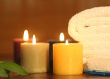 Spa objects indoor Stock Photos