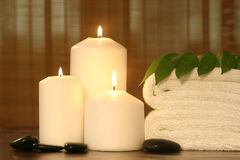 Spa objects indoor Royalty Free Stock Photo