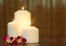 Spa objects indoor Royalty Free Stock Images