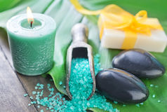 Spa objects Royalty Free Stock Images