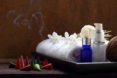 Spa och massagebehandling Arkivbilder