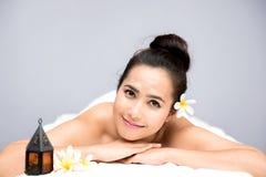 Spa och thai massage arkivfoton