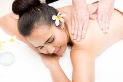 Spa och thai massage royaltyfri bild
