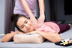 Spa och thai massage royaltyfri fotografi