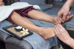 Spa och thai massage royaltyfria foton