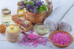 SPA och tillbehör för orientalisk massage Royaltyfria Foton