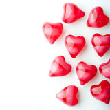 Spa oil hearts Royalty Free Stock Photos