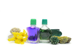 SPA oils Stock Images