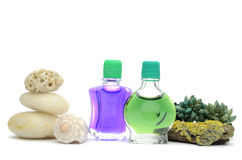 SPA oils Stock Photography