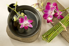 Spa Oriental Style Stock Photography