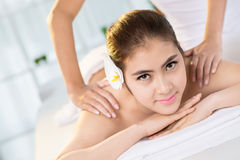 Spa pampering Stock Photos