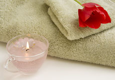 Spa Pampering Gift Royalty Free Stock Photo