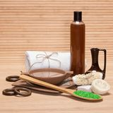 Spa and pampering products and accessories Stock Image