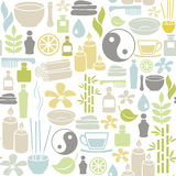 Spa pattern Royalty Free Stock Images