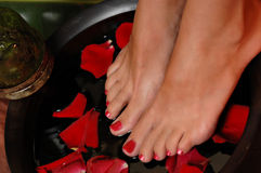 Spa Pedicure Royalty Free Stock Photography
