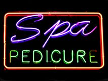 Spa Pedicure Stock Images