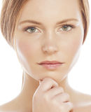 Spa picture attractive lady young red hair Stock Photo
