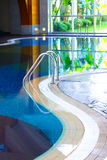 Spa with pool Stock Photos