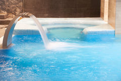 Spa pool in action Royalty Free Stock Photography