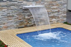 Spa pool Royalty Free Stock Image