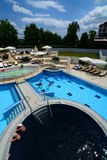 Spa pools in Moravske Toplice. Prekmurje. Slovenia Royalty Free Stock Photo