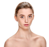 Spa portrait of woman Stock Image