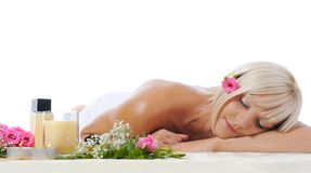 Spa procedure Royalty Free Stock Images