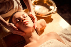 At spa procedure Royalty Free Stock Photography