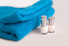 Spa products Royalty Free Stock Photography