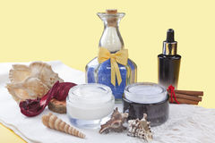 Spa products Stock Image