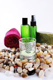 Spa Products Stock Photo