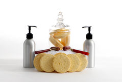 Spa Products Royalty Free Stock Images