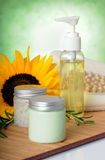 Spa products Stock Photography