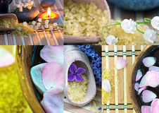 Spa products. Stock Photos
