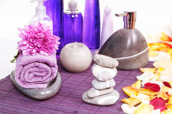 SPA products collection Royalty Free Stock Images