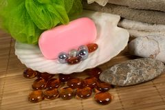 Spa products. See similar Stock Photo