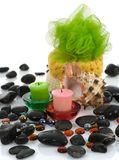 Spa products.  See similar image Royalty Free Stock Photo