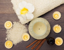 Spa relax treatment Royalty Free Stock Images