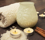 Spa relax treatment Royalty Free Stock Image